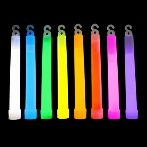 "6"" Glow Sticks With Lanyard One Colour x 25"