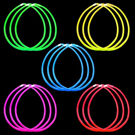 "22"" Single Colour Lite-rope Necklace"
