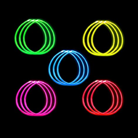 "22"" Glow Necklace x 50 SINGLE"