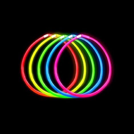 "22"" Glow Necklace Colours x 50 Assorted"