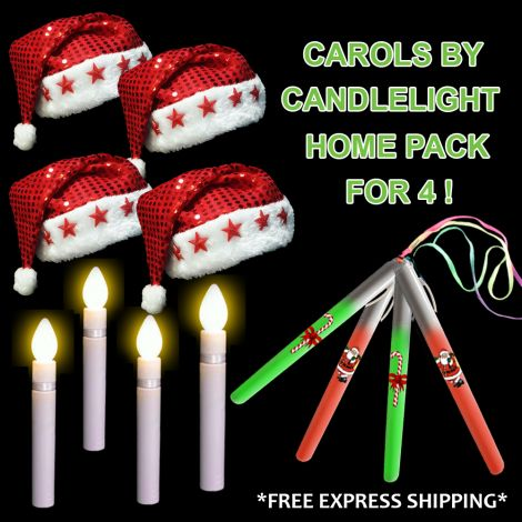 Carols by Candlelight Home Pack for 4