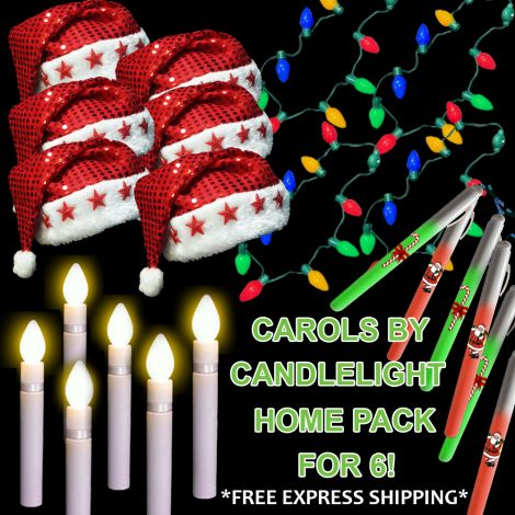 Carols by Candlelight Home Pack for 6