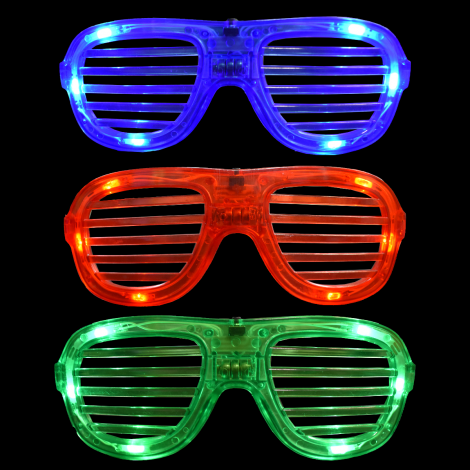 LED Shutter Shades Bold