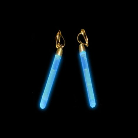 Glow Stick Clip On Earrings