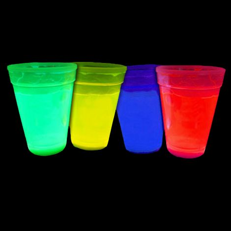 Glow in the Dark Cups x 4