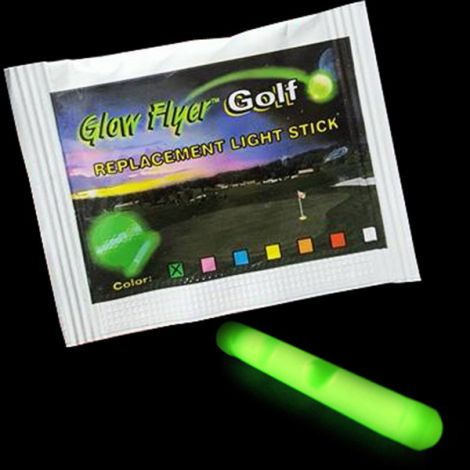 "Extra GLOW FLYER 1.5"" Insert Light Stick for Golf Ball"
