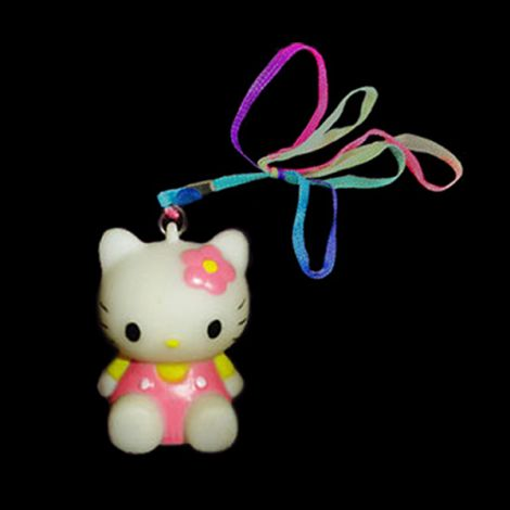 Flashing Kitty Necklace