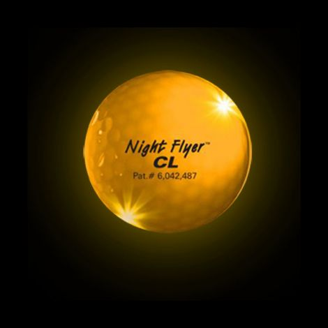 1 x Night Flyer CL Golf Ball