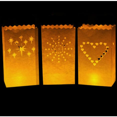 Luminary Bags (LED Tea Lights not included)
