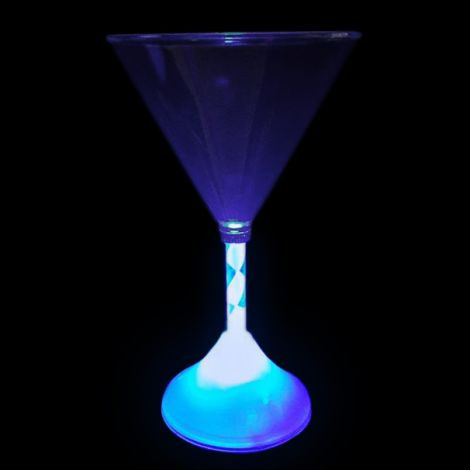 Light Up LED Martini Glass - DUE END OF MAY