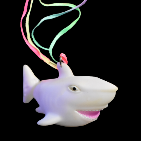 Flashing Shark Necklace