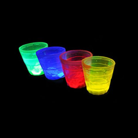 Glow In The Dark Shot Glasses x 1