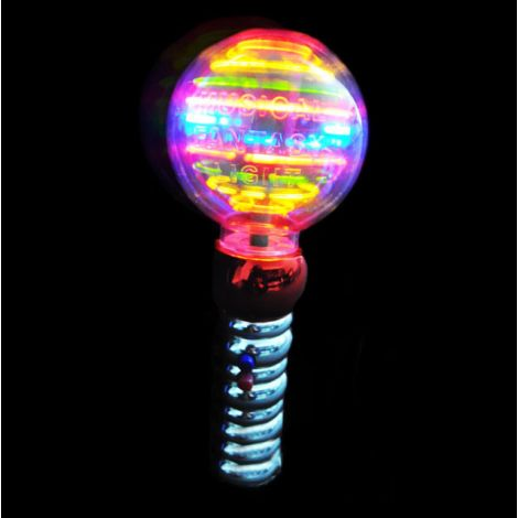 Spinning Music Light Ball