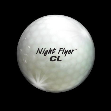 Night Flyer Golf Ball White