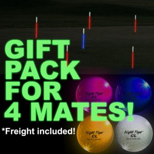 Play Night Golf with your mates in your own backyard!