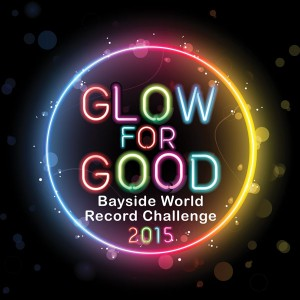 Hampton Rotary's GLOW for GOOD Bayside World Record Challenge 2015