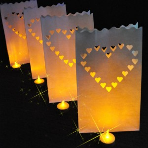 Valentine's Day decor with Everything Glows