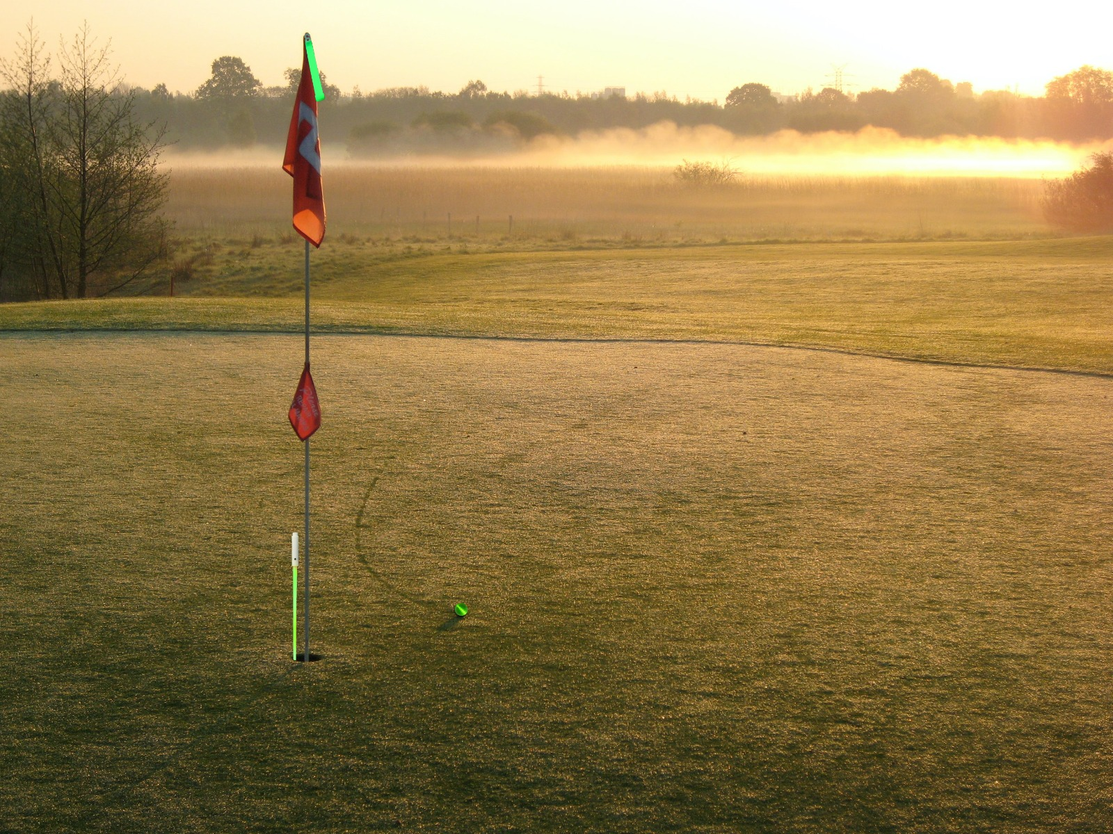 Night Golf Flag